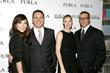Lindsay Price, Tommaso Bruso, Kelly Rutherford and Michele Furlanetto