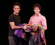 Gareth Gates and Lee Mead
