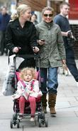 Geri Halliwell and Madonna