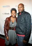 Malinda Williams and D-Nice The Global Grind presidential...