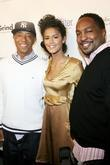 Russell Simmons, Jasalene Gonzales and Navarrow Wright The...