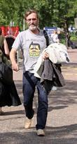 Joe McGann leaves the GMTV studios after appearing...