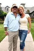 Vince Neil and his wife Lia Gherardini Vince...