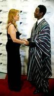 Sarah Ferguson, Duchess of York and actor Isaiah Washington