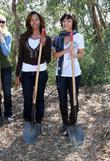 Claudia Jordan and Marisa Ramirez