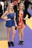 Amanda and Smantha Marchant Hannah Montana UK premiere...