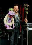 Ventriloquist Jeff Dunham Performs With Peanut
