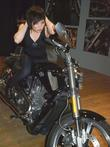 Sisely Treasure, Shiny Toy Guns and Harley-Davidson