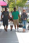Heidi Klum, Seal Walking Back To Their Car After Shopping With Their Son, Johan and A Friend