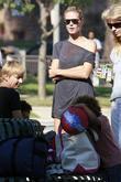 Heidi Klum and her son Henry