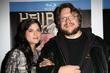 Selma Blair and Guillermo Del Toro