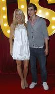 Julianne Hough and Cody Linley