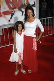 Kimberly Elise and daughter