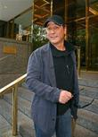 Country Recording artist Clint Black outside his Manhatten hotel