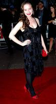 Anna Popplewell, arrives at the UK film Premiere...