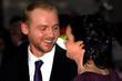 Simon Pegg and Maureen McCann, arrives at the...