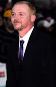 Simon Pegg, arrives at the UK film Premiere...