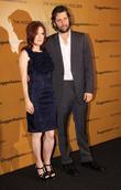 Actress Julianne Moore and husband Bart Fruendlich attend...