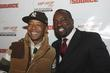 Russell Simmons and Malik Yoba