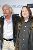 Richard Branson and Bruce Synofski