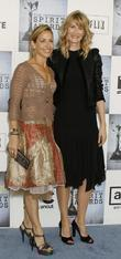 Laura Dern and Sheryl Crow
