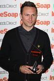 Alex Walkinshaw Inside Soap Awards 2008 London, England