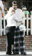 Barbara Davis and Jason Davis outside The Ivy restaurant