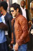 French Actor Jamel Debbouze Has Lunch With His Wife