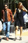 French Actor Jamel Debbouze Has Lunch With His Wife Melissa Theuriau