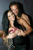 Audrey Bitoni and Nick Manning at Vice Nightclub...