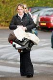 Cordelia Grey Arrives At Bicester Magistrates Court For A Family Member's 10 Week Trial On December 08