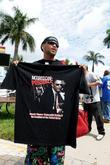 Fans Turn Out For A Free Concert At Bayfront Park By Jay-z To Urge Voters To Get Behind Presidential Candidate Barack Obama