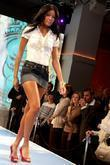 Model wearing a Fabulocity design