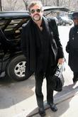 'watchmen' Star Jeffrey Dean Morgan Leaving His Midtown Manhattan Hotel and Manhattan Hotel