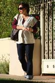 Jennifer Garner visits a friend's house Los Angeles,...