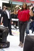 Al Roker, Jennifer Hudson, Rockefeller Plaza
