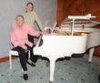 Jerry Lee Lewis and his daughter Phoebe Lewis