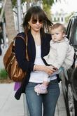 Jessica Alba and Her Daughter Honor Marie Warren Out Shopping With A Friend In Beverly Hills.