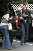 Jessica Alba, Cash Warren, Honor Marie Warren go grocery shopping at Bristol Farms.