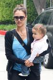 Jessica Alba and Her Daughter Honor Marie Warren