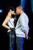 Rihanna and Chris Brown