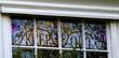 'Keep Out' is the clear message in the window of suspended BBC presenter Jonathan Ross