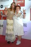 Joss Stone, Rita Gilligan MBE and first Hard Rock Cafe's waitress