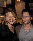 Blake Lively and Penn Badgley Opening party for...
