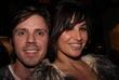 Jake Shears and Gina Gershon Opening party for...