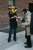 Julia Roberts, David Letterman and Ed Sullivan Theatre