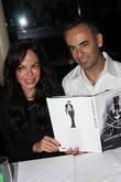 Alison Serafim and Francisco Costa A private dinner...