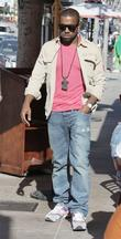 Kanye West, his new girlfriend Amber Rose go shopping at H Lorenzo boutique and have lunch at La Petite Four.