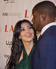 Kim Kardashian and Reggie Bush