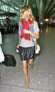 Actress Kate Bosworth arrives at Heathrow airport after...